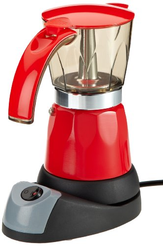 TV DAS ORIGINAL 02609 COFFEEMAXX - CAFETERA ITALIANA ELECTRICA  COLOR ROJO