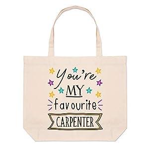 carpinteros la estrella: You'Re My Favourite Carpintero Estrellas Grande Bolso Playa Bolsas