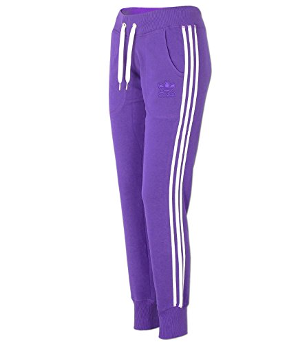 Adidas Slim Track Pants Damen Sweathose violett Modell: G76023, Größe:34 -