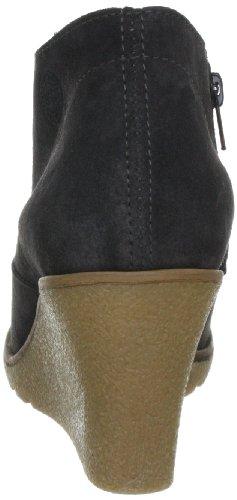 ESPRIT Kiwi Ankle Wedge G10366 Damen Fashion Halbstiefel & Stiefeletten Grau (dark grey 064)
