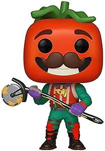 Funko- Pop Vinilo: Games: Fortnite: TomatoHead Figura Coleccionable, Multicolor (39051)