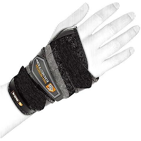 Shock Doctor Protège poignet 3 straps - Vendas de fitness, color negro, talla 30 Waist/33 Leg