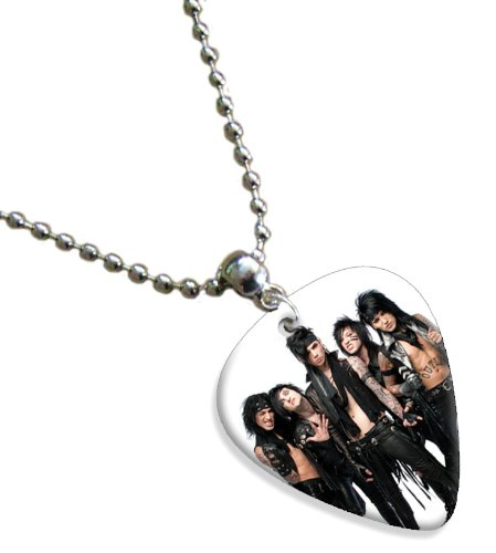 Black Veil Brides Double Sided Guitar Plektrum Plektron Pick Chain, Kette Black Veil Brides-instrumente
