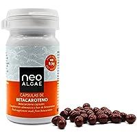 Cápsulas de Betacaroteno Neoalgae | Bronceado Natural | Antioxidante | 30 Cápsulas En Forma De Perlas, con alto.
