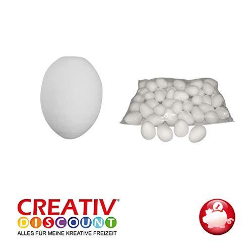 CREATIV DISCOUNT® Watte-Eier, Weiß, 30mm, 20 STK. im Beutel -
