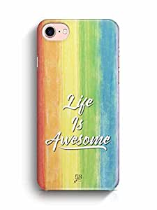 YuBingo Life is Awesome Designer Mobile Case Back Cover for Apple iPhone 7