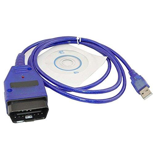 Preisvergleich Produktbild XTECH A1164 KKL VAG-COM 409.1 OBD2 OBD USB-Kabel