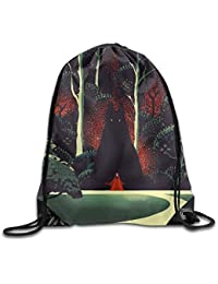 gthytjhv Classic Dinosaurs Drawstring Bags Daypack for Activity,Basketball,Running Pattern 6 Lightweight Unique