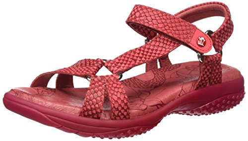 Panama Jack Neus Snake, Sandales  Bout ouvert femme Rot (Red)