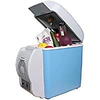 woyao13deng Auto Combi eléctrico nevera portátil, Mini de frigorífico para Auto y doble para calefacción/Combi/Silicio 12V/Mini de frigorífico