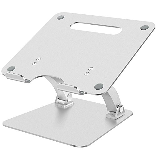 "Supporto per PC Portatile, Nulaxy Regolabile Supporto Notebook, Supporto Laptop Stand Dock per Macbook Pro / Air, Supporto per laptop Apple, 7""-15"" Notebook e Tablet- - Argento"
