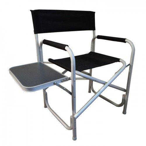 Multi Bargains Offre : Outdoor Leisure Fauteuil de metteur en scène pliable et table pour Picnin ou l'utilisation de porte