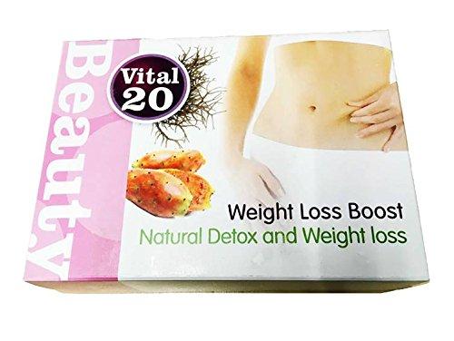 Weight Loss Duo Pack   Gewichtsreduktion und Detox auf die natürliche Weise   Set mit 1 x Vital20 Fat Block Kapseln und 2 x Vital20 Slim Lite Kapseln   nur mit natürlichen Zutaten (Light Set Pack)