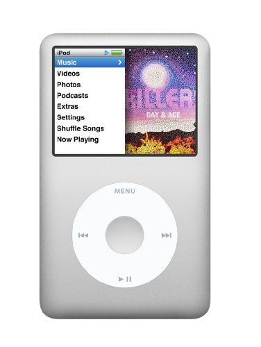 Apple iPod Classic MP3-Player silber 160 GB (aktuellstes - Ipod Apple Mp3