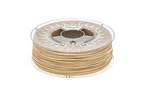 extrudr® BDP ø1.75mm (0.8kg) Holz/Fichte Natur - Filament auf Holzbasis! Biologisch vollständig abbaubar! - 3D Drucker Filament - Made in EU - höchste Qualität zum fairen Preis!