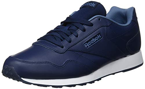 f7e23d63850 Reebok Men s Royal Glide Lx Fitness Shoes Multicolour (Collegiate Navy Blue  Slate White