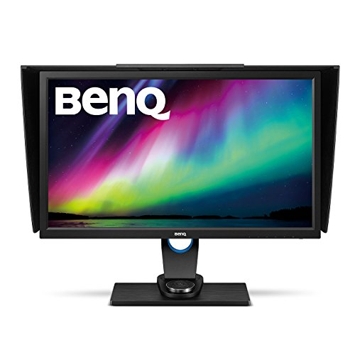 BenQ SW2700PT 27-inch 2K QHD Photographer Monitor (2560 x 1440, 99% Adobe RGB, IPS Technology, Hardware Colour Calibration, Height Adjustment, OSD Controller, DVI-DL/HDMI 1.4/DP1.2) - Black