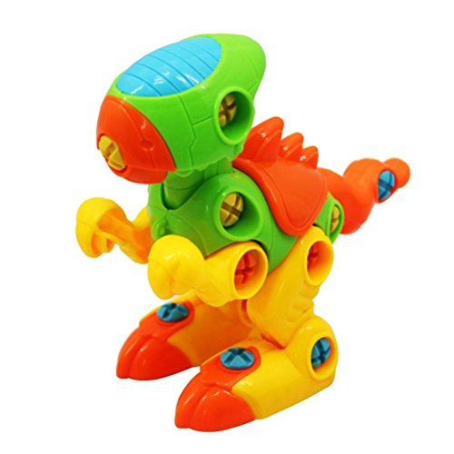 STOBOK Set von auseinander Nehmen Spielzeug Dinosaurier Modelle Engineering Kit frühen Entwicklungsgebäude Spielen Set Geschenk für Jungen Mädchen Kleinkinder (Tyrannosaurus)
