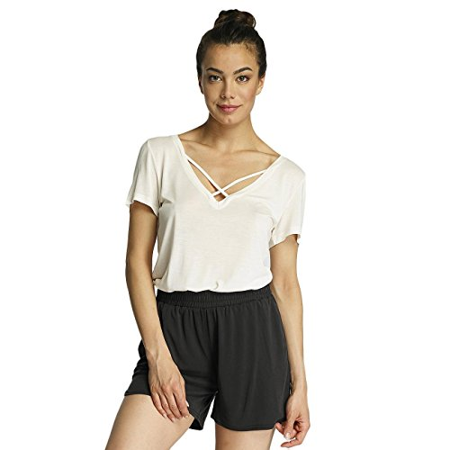 Pieces Damen Oberteile / T-Shirt pcKatty Weiß