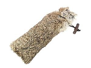 Mystique Peau Factice En Fourrure de Lapin 500g, idéal également pour chien avec petit mixte