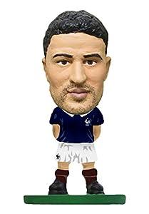 SoccerStarz SOC1028 - Figura del Equipo Nacional de Francia con Licencia Oficial de Nabil Fekir en Kit de Inicio