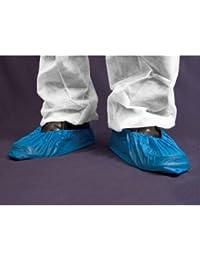 Janitorial Express DG100–16desechables cubrezapatillas de ciclismo (, 16cm de largo, azul