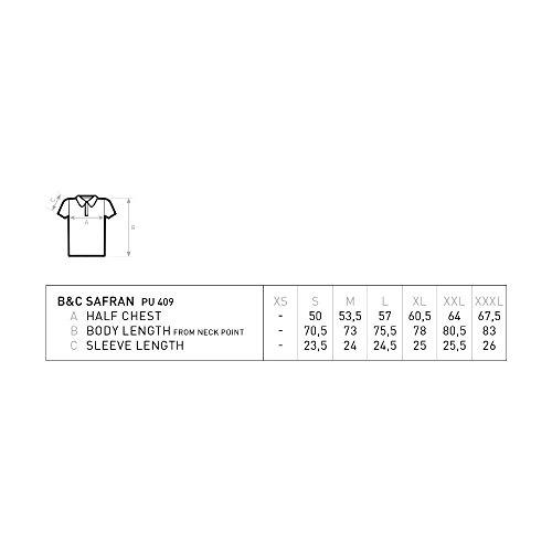 B&C – Piqué Poloshirt 'Safran' - 3