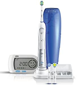 Braun Oral-B Triumph 5000 Five-Mode Power Toothbrush with Wireless Smart Guide