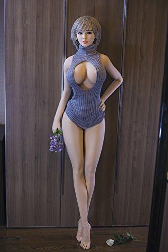 170cm Sexpuppe Liebespuppe Lovedoll aus Silikon TPE mit 3 Öffnungen Vagina Anal Oral - 7