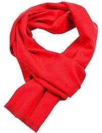 ZYUEER Echarpe Laine Homme Scarf Wool Couleur Unie Simple EléGante Foulard  éPaisse Chaud- DifféRentes Couleurs ad84d577d29