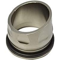 REFURBISHHOUSE CNC Aleación de Aluminio de La Motocicleta Tapón del Tubo de Escape Boca Decorativa para