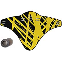 JOllify Carbon Mud Guard Fender 2015 para MTB Mountain Bike – Carbon Impreso Amarillo – # 514