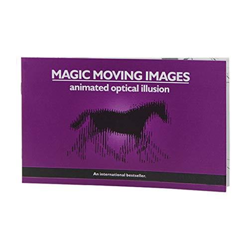 ion Magic Moving Images Bücher, Zaubertricks Requisiten Spielzeug, Animierte Optische Täuschungen, Kindergeschenke ()