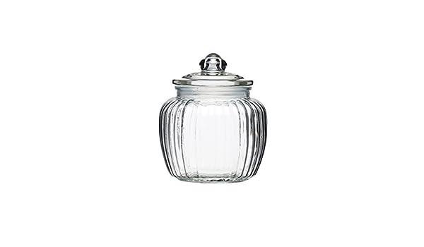 KitchenCraft Home Made Medium Glass Storage Jar 2.5 Pints 1.4 Litres