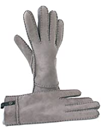 UGG Women's Gloves grey Grau (stormy geyser)