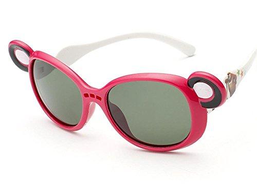 Kinder polarisierte Sonnenbrille yurt kühle Art und Weise , red (Jugend Zebra Red)