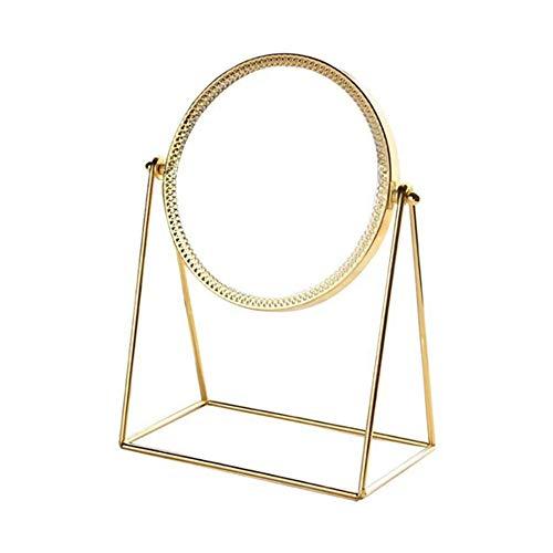LBSC Espejo de Maquillaje, Desmontable y Giratorio de 360 Grados, Espejo cosmético, Hecho a Mano, Espejo...