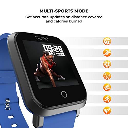 Noise ColorFit Pro Smartwatch (Blue)