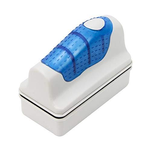 Schwimmende Aquarium Magnet Reinigungsgeräte Algenschaber Set S Mit einem kostenlosen Filter Schwamm 7cmx3.7cmx7cm