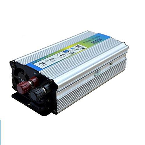 Convertisseur BQ, Power Inverter 800W DC 24V à AC 220V Transformateur tension de voiture Briquet de cigarette Chargeur de voiture USB