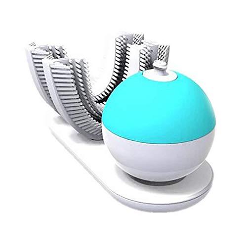 Sbiancamento Dei Denti Sonic Smart Electric Spazzolino Pigro Spazzolatura Automatica Ricarica Wireless