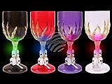 Unbekannt leuchtende LED Trinkglas Motiv: Totenkopf