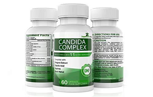 CANDIDA KOMPLEX 60 Kapseln welche die Möglichkeiten CANDIDA/HEFEPILZ INFEKTIONEN zu bekommen verringern Kann nützliche Bakterien ersetzen 100% GELDZURÜCKGARANTIE -