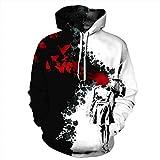 Unisex Paare Blut Schmetterling mit Kapuze Sweatshirt 3D gedruckt Quick Dry Sweat Shirt Langarm Hoodie Taschen Top WY-19