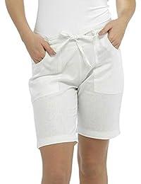 Amazon.co.uk: White - Shorts / Women: Clothing