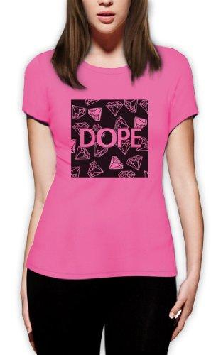 Diamond Party Fashion Damen T-Shirt Rosa