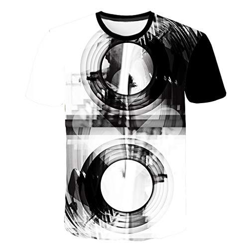 Mädchen Kostüm Pair Männer - YueLove Unisex 3D Gedrucktes Cooles Hemd LäSsige Sommer Hawaiihemd Strandferien Kurzarm Large Size Tees Tops Party KostüM MäNner