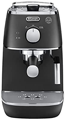 De'Longhi Distinta ECI341BK Traditional Pump Espresso Machine - Black