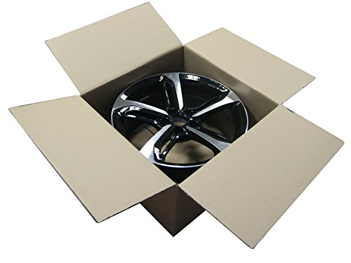 """4 Stück Felgenkarton für eine Felge 13\"""" - 15\"""" 420mm x 420mm x 210mm / Karton / Felgen / Reifen / Reifenkarton / Faltkarton / Rad / New / complete / wheel / cardboard / Versand / Lagerung / Werkstatt / Alufelgen / Stahlfelgen / Zoll / Inches / Verpackung / package / Pappekarton / haltbar / carton / Rims / packing / sending / Transport / store / safe / sicher / Neu /"""