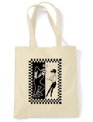 Ska Tote / Shoulder Bag. Environmentally Friendly and Re-Usable